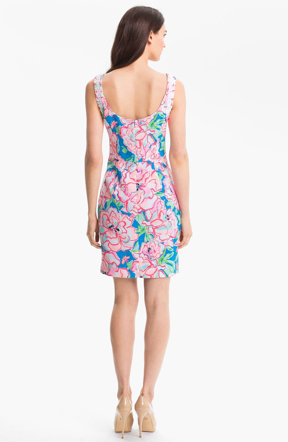 Alternate Image 2  - Lilly Pulitzer® 'Nienie' Print Sheath Dress