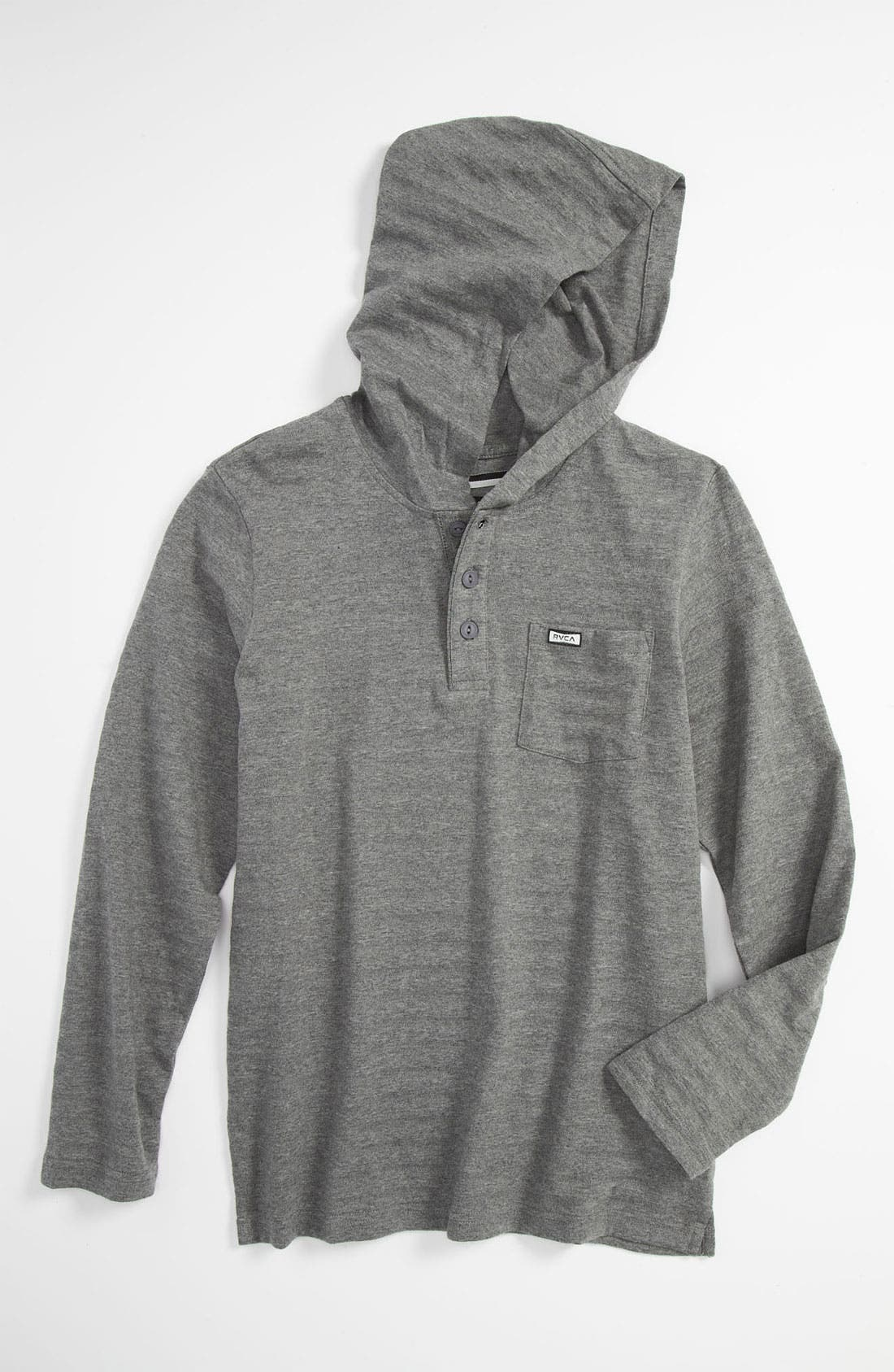Alternate Image 1 Selected - RVCA 'Shopkeeper' Hoodie (Big Boys)