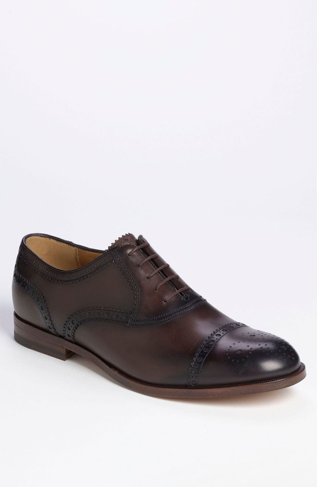 Alternate Image 1 Selected - Gucci 'Samo' Cap Toe Oxford