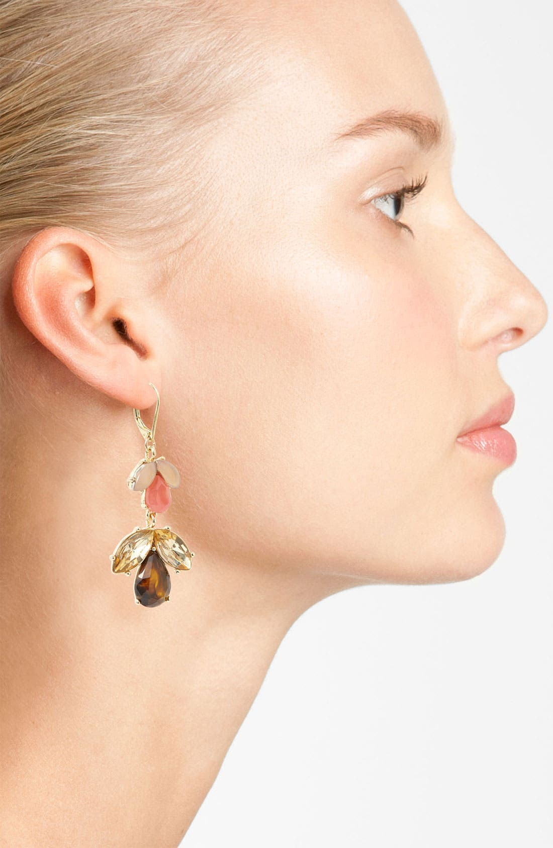 Alternate Image 2  - Anne Klein Drop Earrings