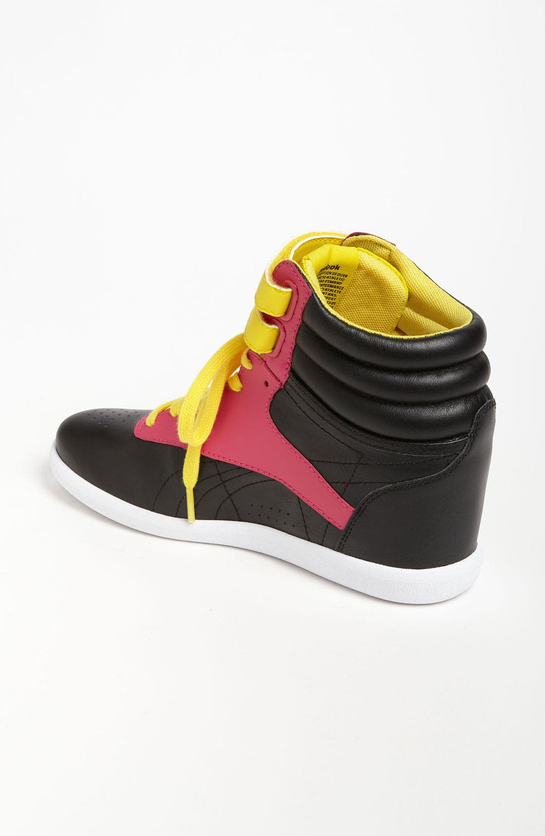 Alternate Image 2  - Reebok 'Freestyle Hi Wedge A. Keys' Sneaker (Women)