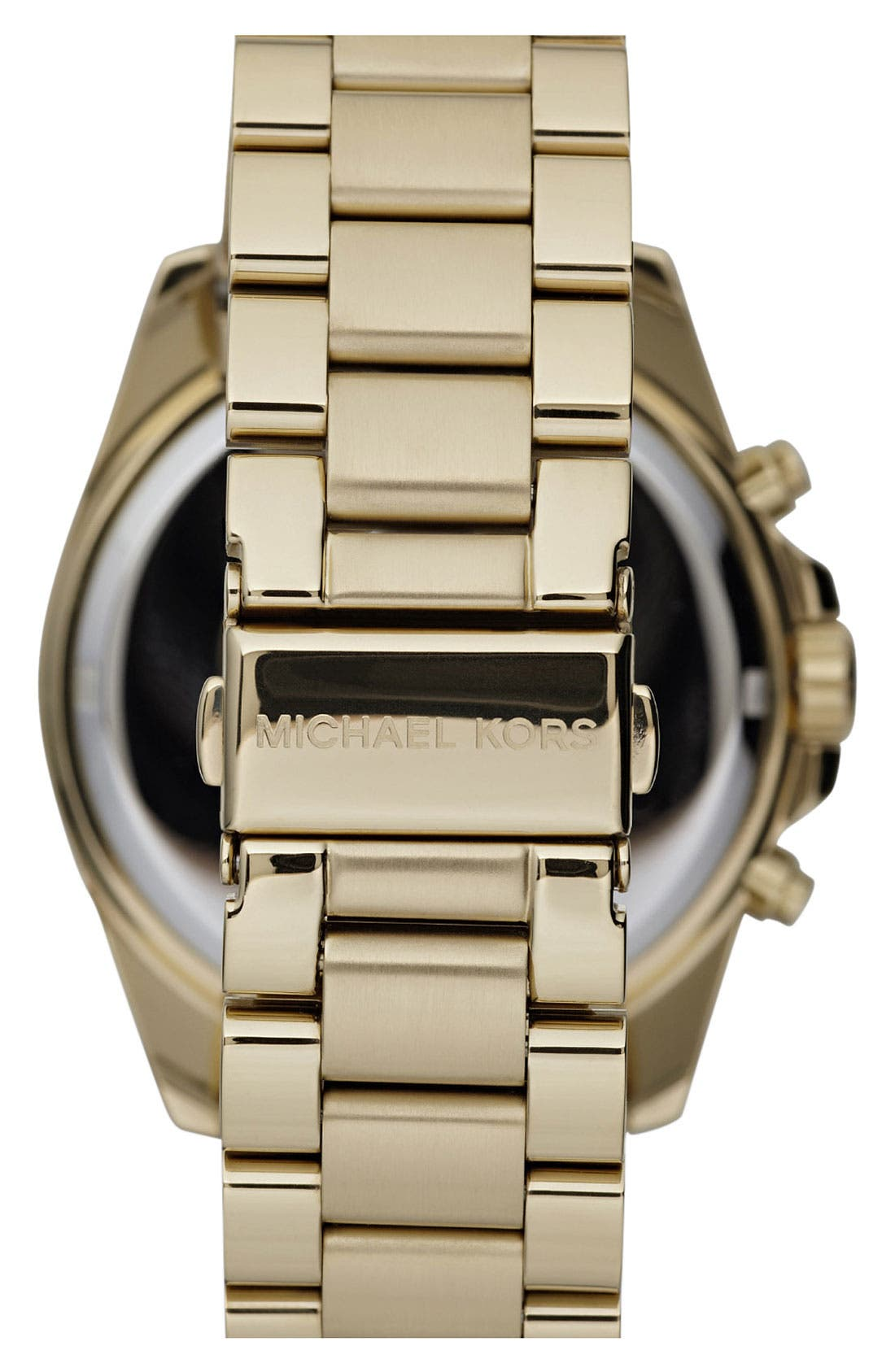 Alternate Image 2  - Michael Kors 'Bradshaw' Chronograph Bracelet Watch, 43mm