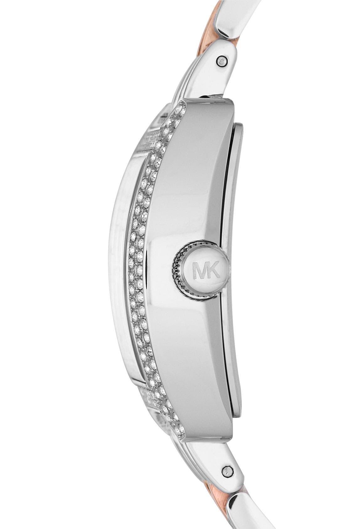 Alternate Image 2  - Michael Kors 'Emma' Square Bracelet Watch