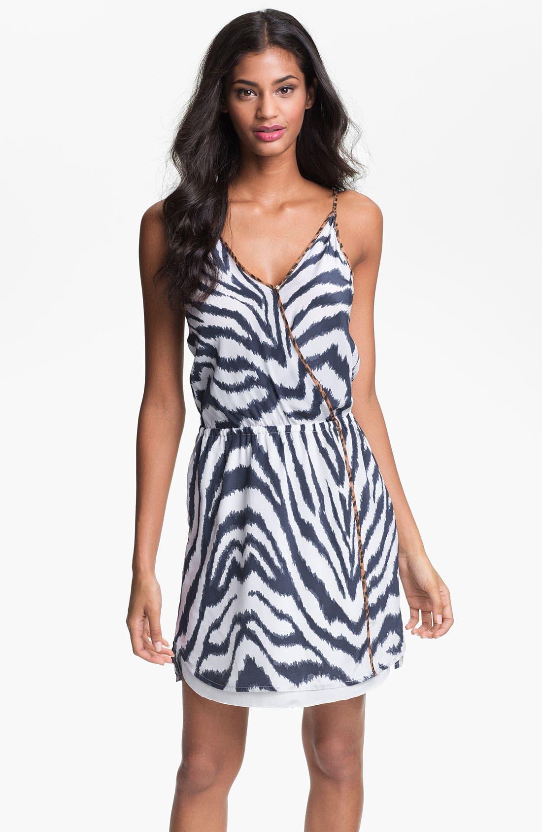 Alternate Image 1 Selected - ViX Swimwear 'Cape Navy Rachel' Cover-Up Dress