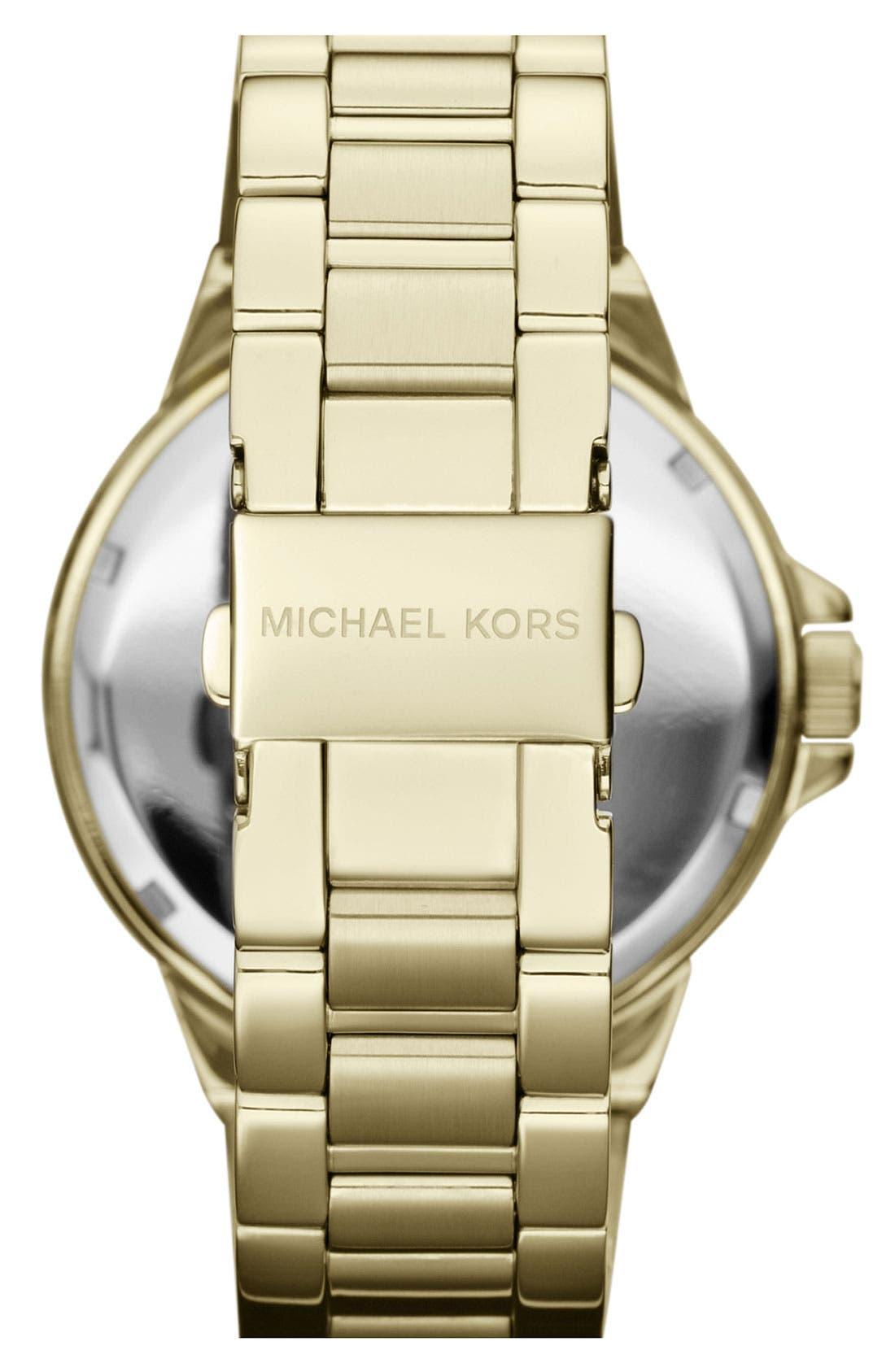 Alternate Image 3  - Michael Kors 'Gramercy' Round Bracelet Watch, 45mm