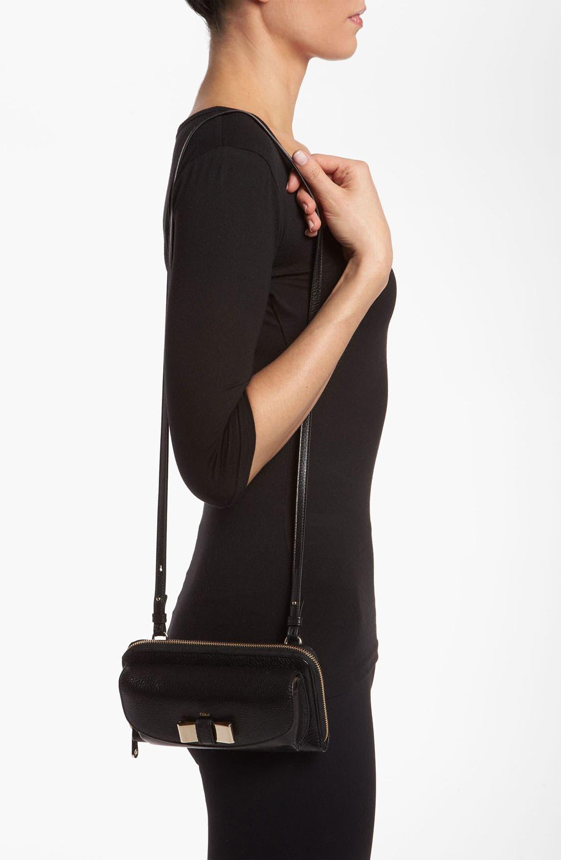Alternate Image 2  - Chloé 'Lily - Long' Sunglasses Case & Crossbody Wallet