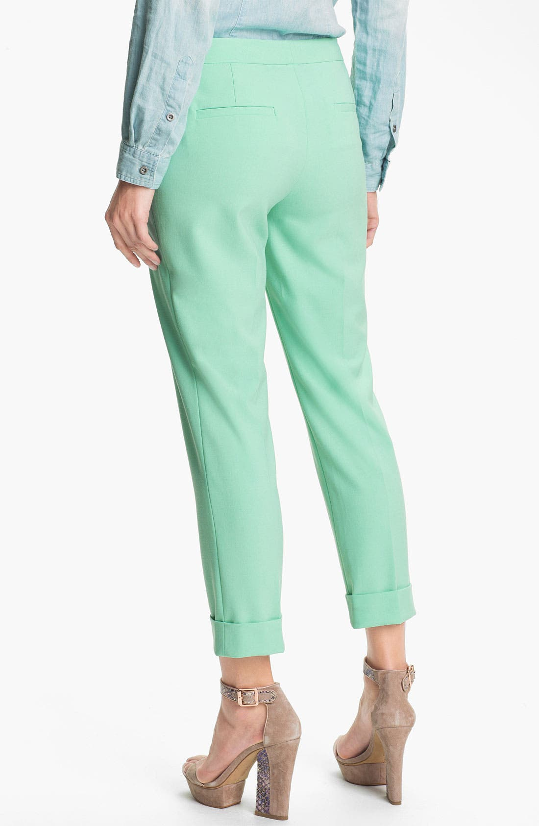 Alternate Image 2  - Vince Camuto Cuff Ankle Pants