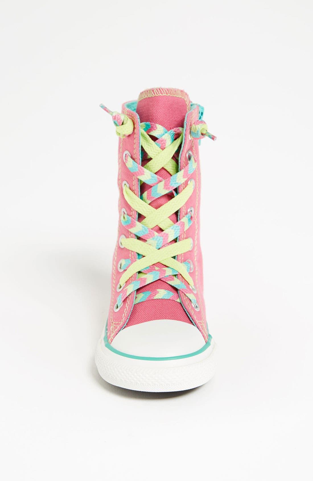 Alternate Image 3  - Converse Chuck Taylor® All Star® 'X-Hi' Sneaker (Baby, Walker & Toddler)