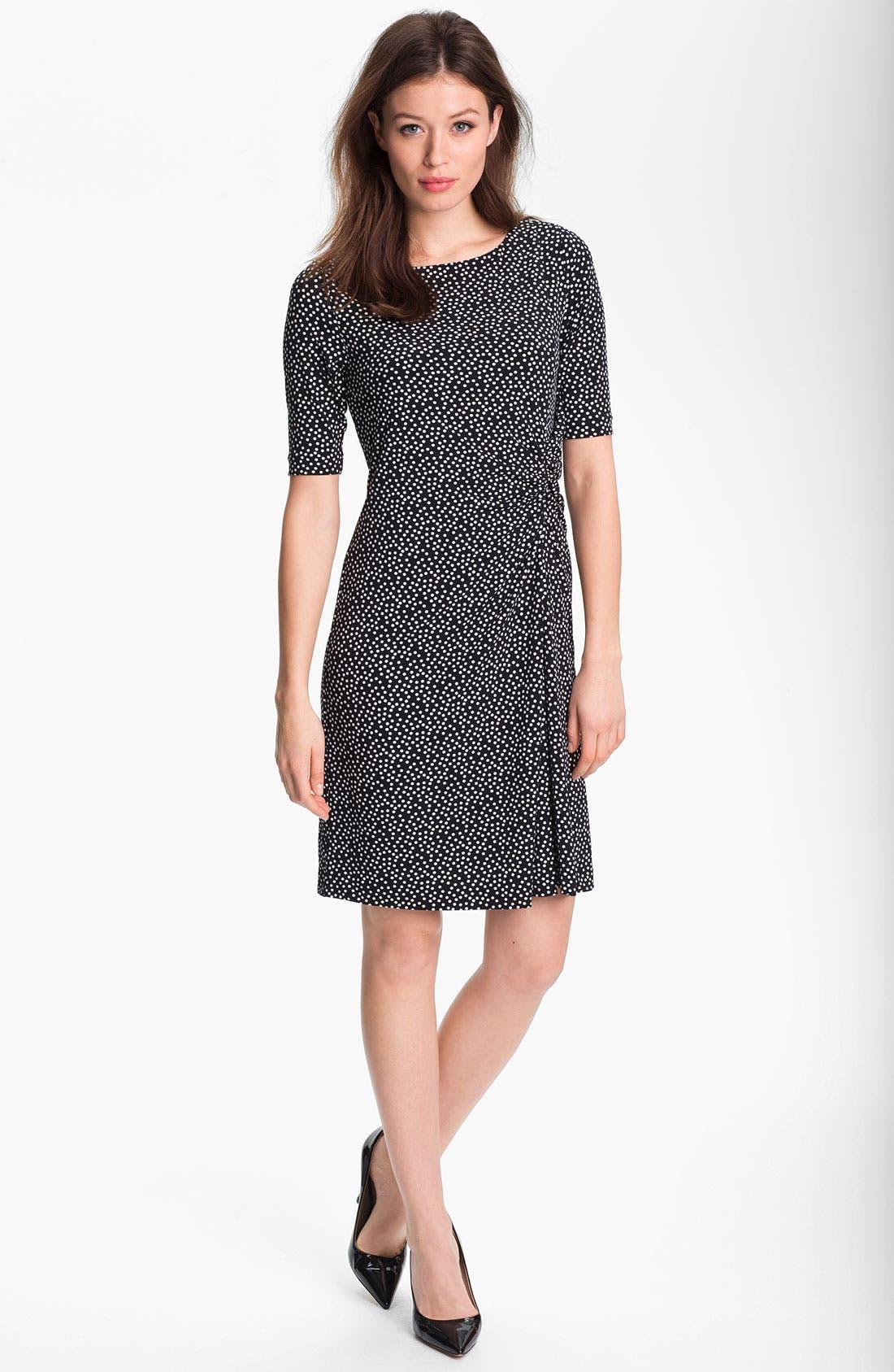 Alternate Image 1 Selected - Chaus Dot Print Dress