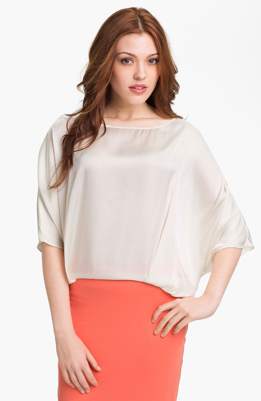 Alternate Image 1 Selected - Vince Camuto Tie Back Blouse