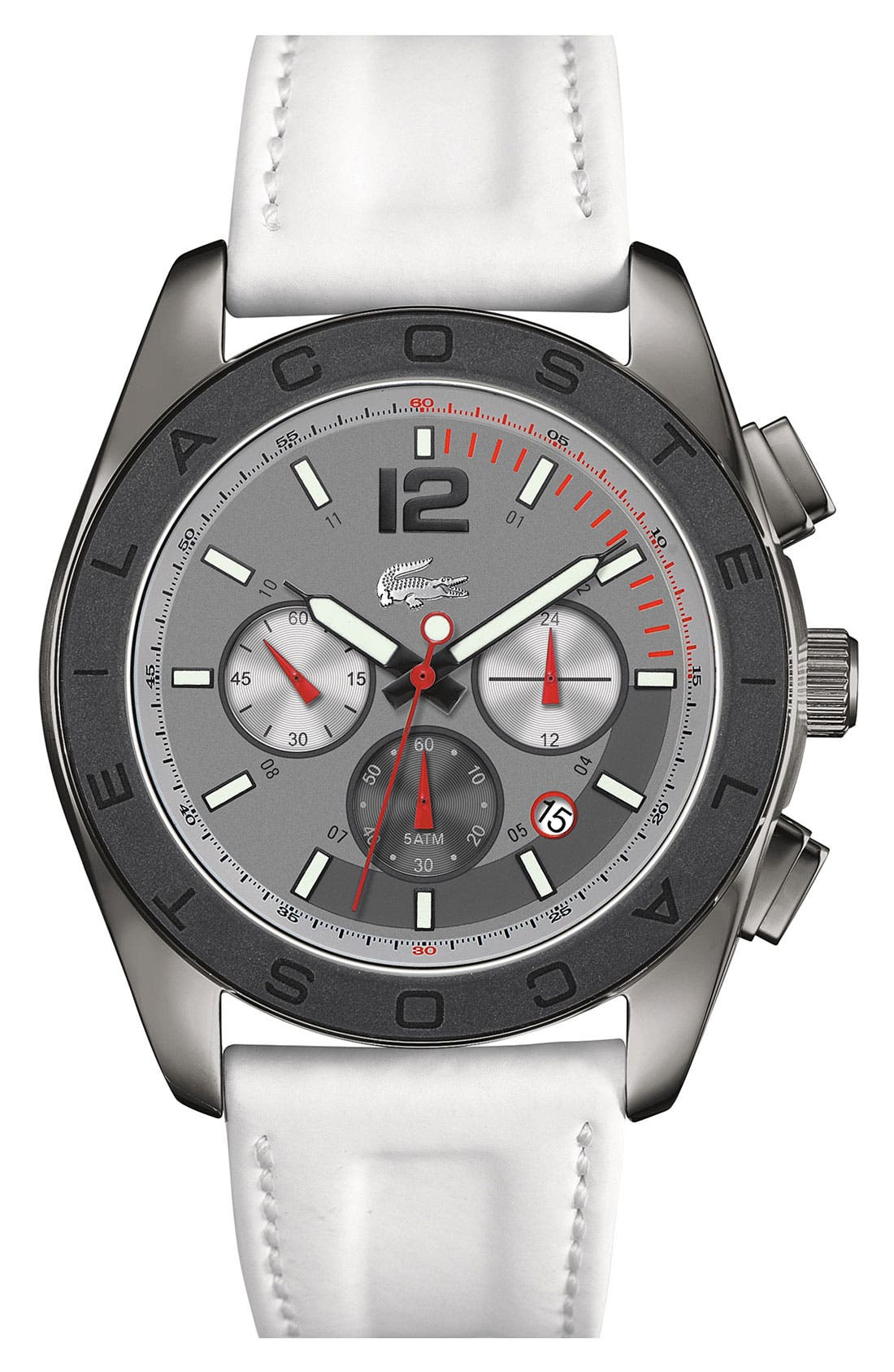 Main Image - Lacoste 'Panama' Chronograph Watch, 46mm