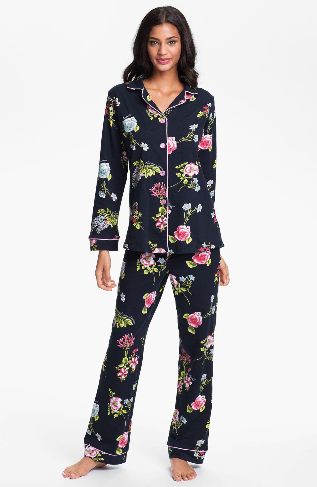 Main Image - BedHead Classic Knit Pajamas