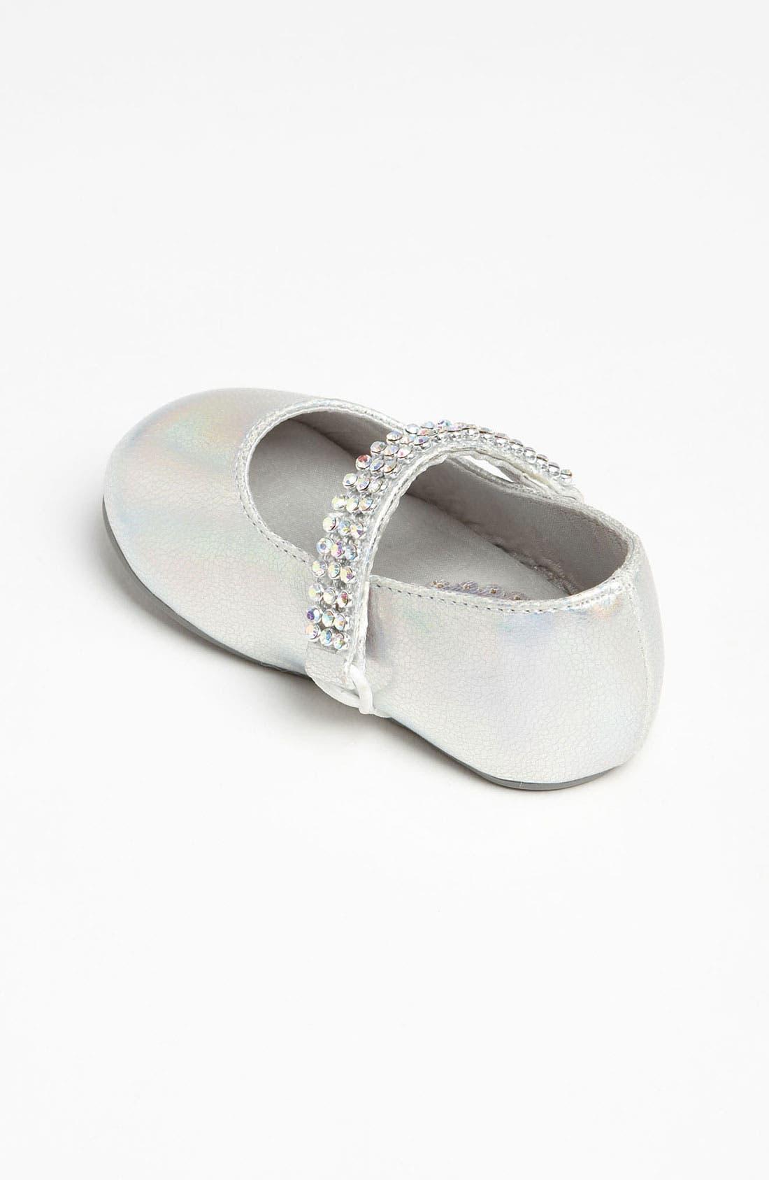 Alternate Image 2  - Stuart Weitzman 'Baby Sugar' Crib Shoe (Baby)