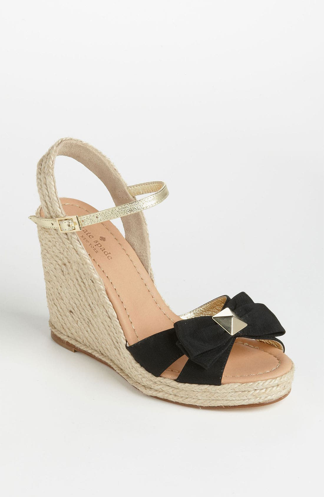 Alternate Image 1 Selected - kate spade new york 'carmelita' wedge sandal