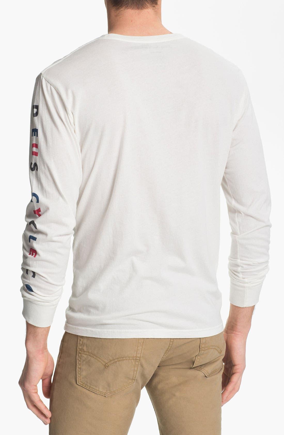 Alternate Image 2  - Deus Ex Machina 'Coover' Long Sleeve Graphic T-Shirt