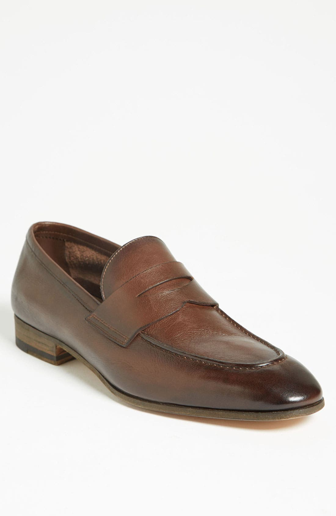 Alternate Image 1 Selected - Santoni 'Tristan' Penny Loafer (Men)