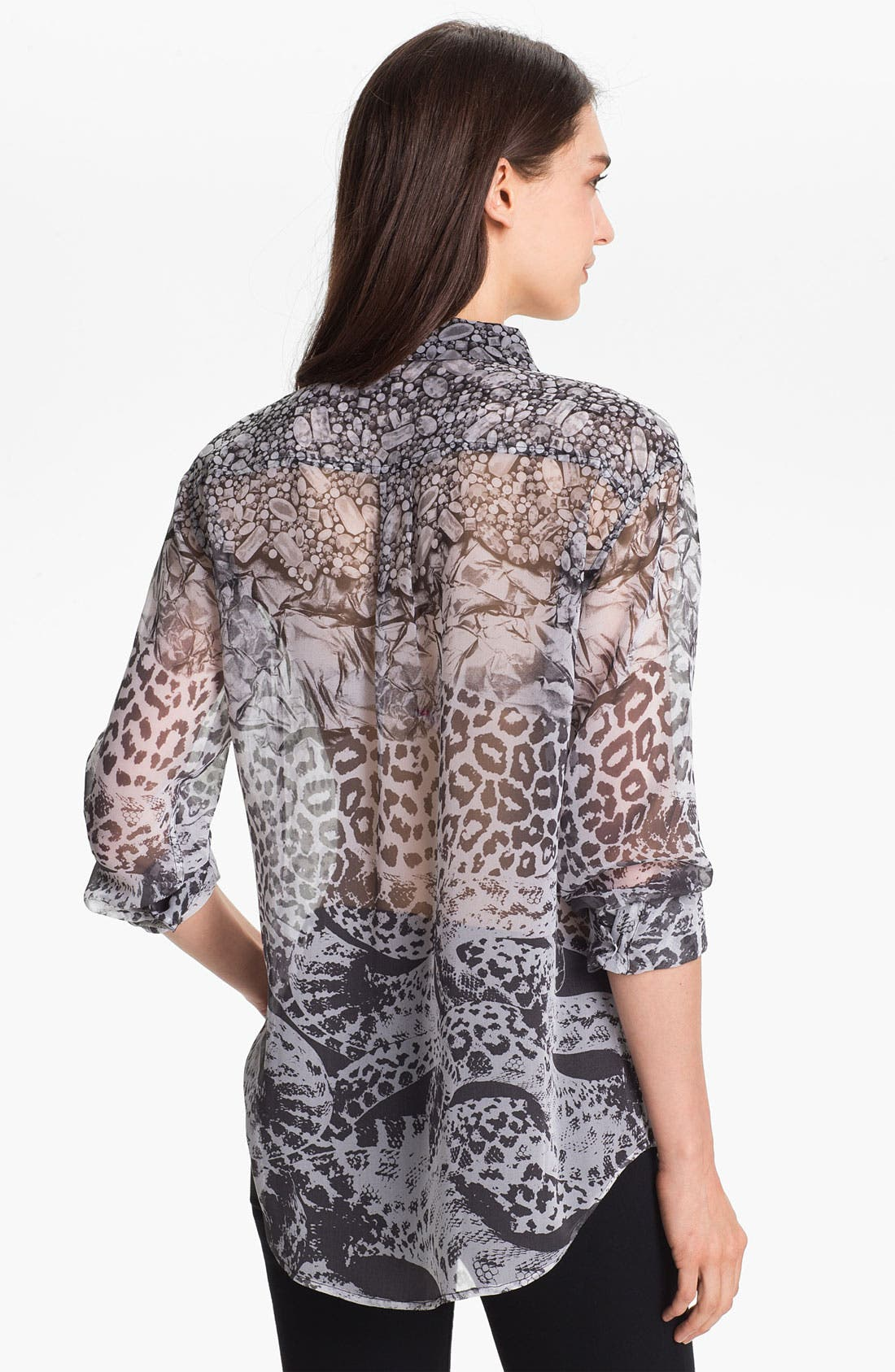 Alternate Image 2  - Equipment 'Signature' Sheer Silk Shirt