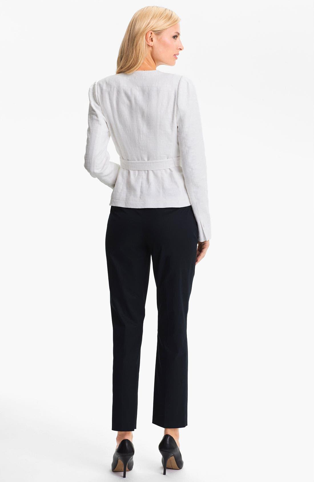 Alternate Image 5  - Classiques Entier Belted Linen Jacket