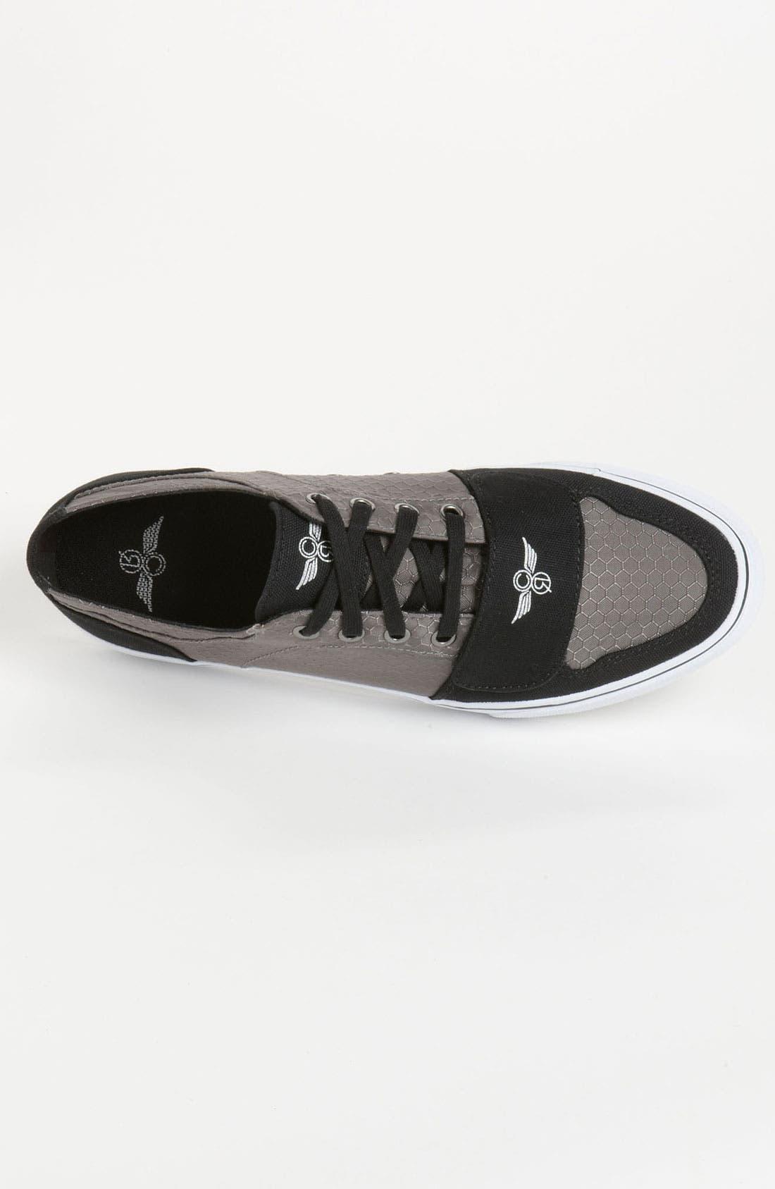 'Cesario Lo VXI' Sneaker,                             Alternate thumbnail 3, color,                             Gunmetal Hexagon