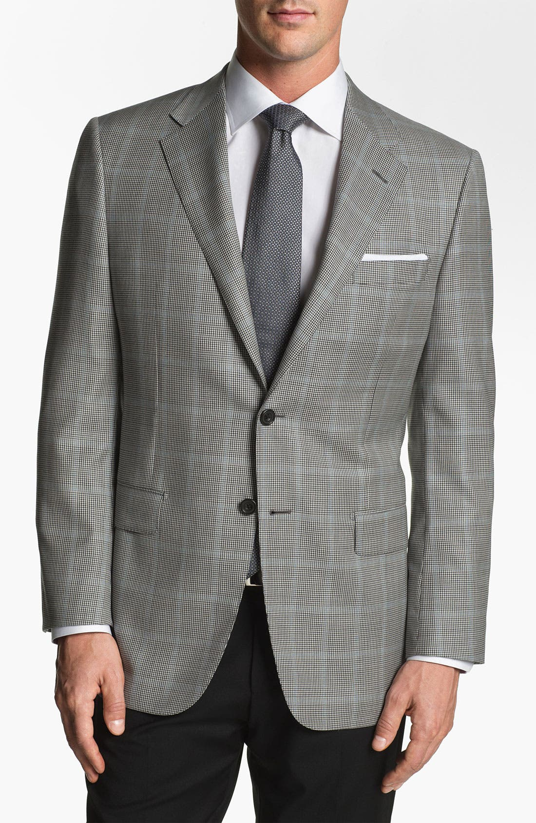 Main Image - Hickey Freeman Houndstooth Sportcoat