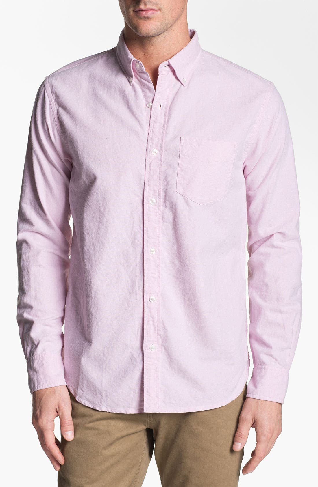 Alternate Image 1 Selected - Bonobos Standard Fit Oxford Sport Shirt