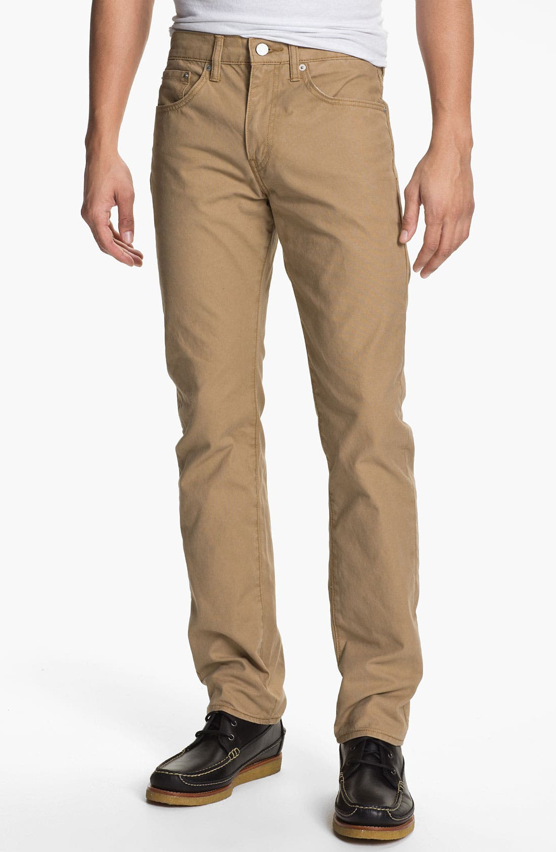 Alternate Image 1 Selected - Levi's® '513™' Slim Straight Leg Canvas Pants