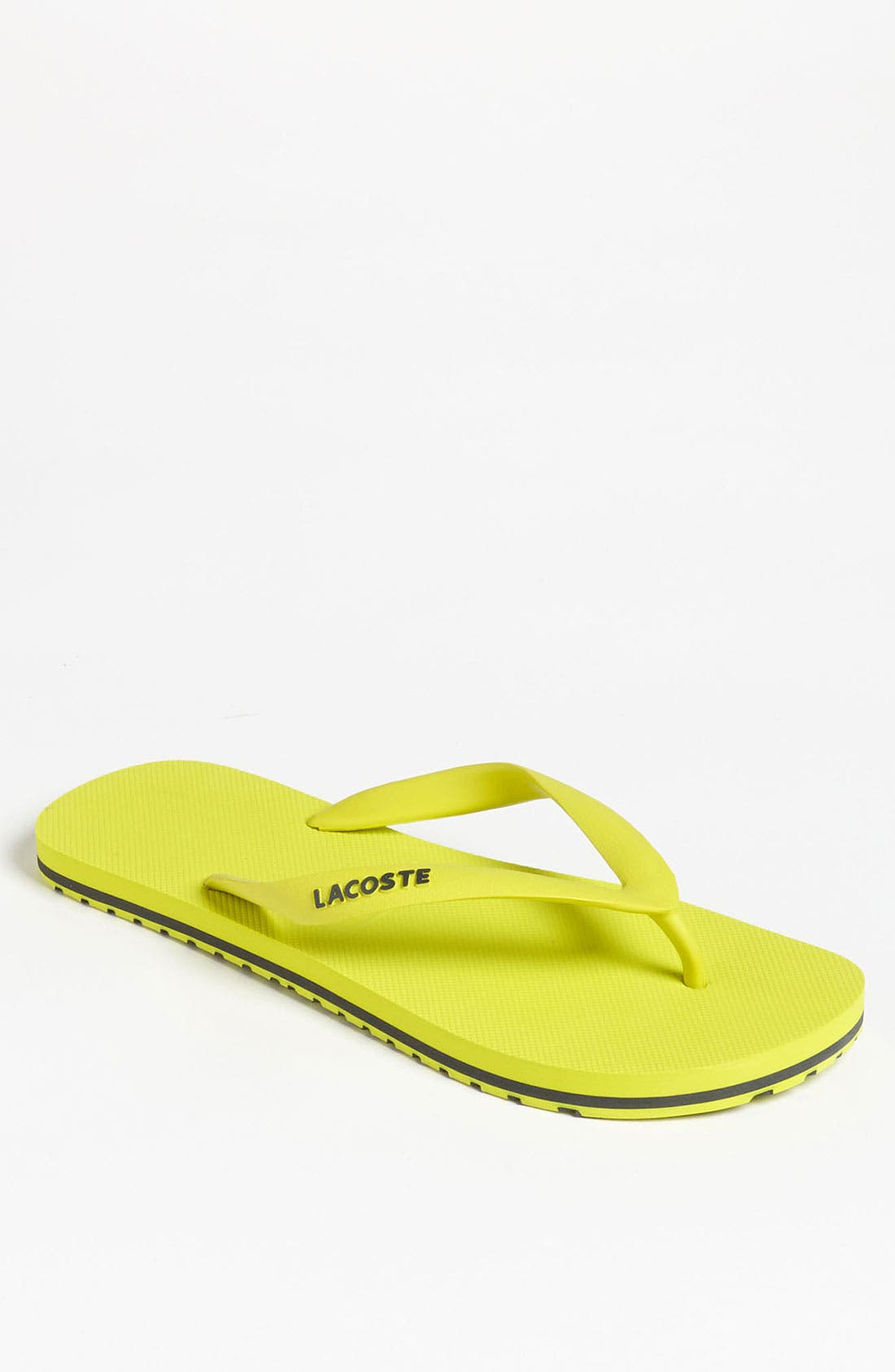 Alternate Image 1 Selected - Lacoste 'Nosara Jaw' Flip Flop (Men)