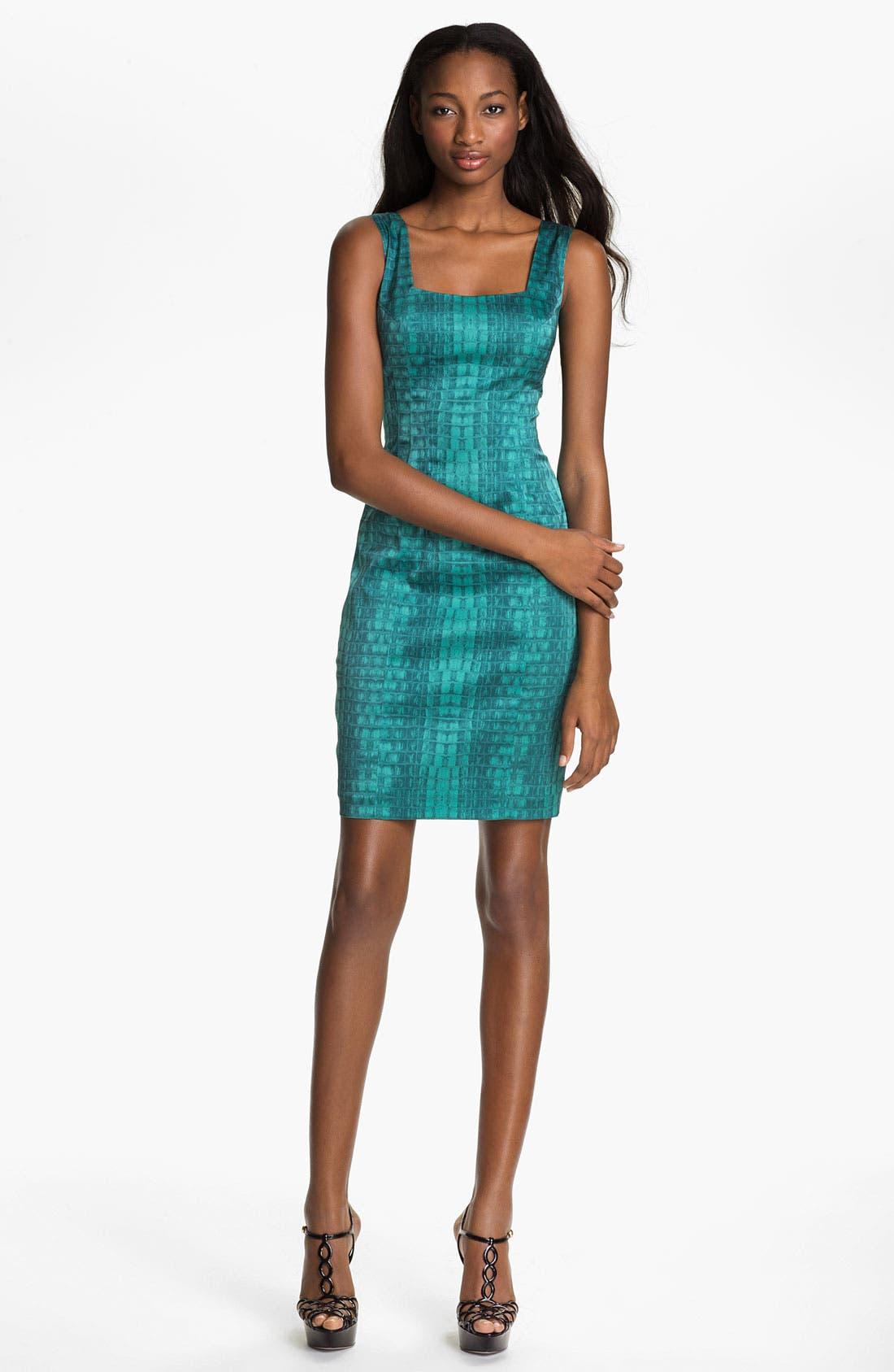 Main Image - Jay Godfrey 'Balti' Alligator Print Dress (Nordstrom Exclusive)