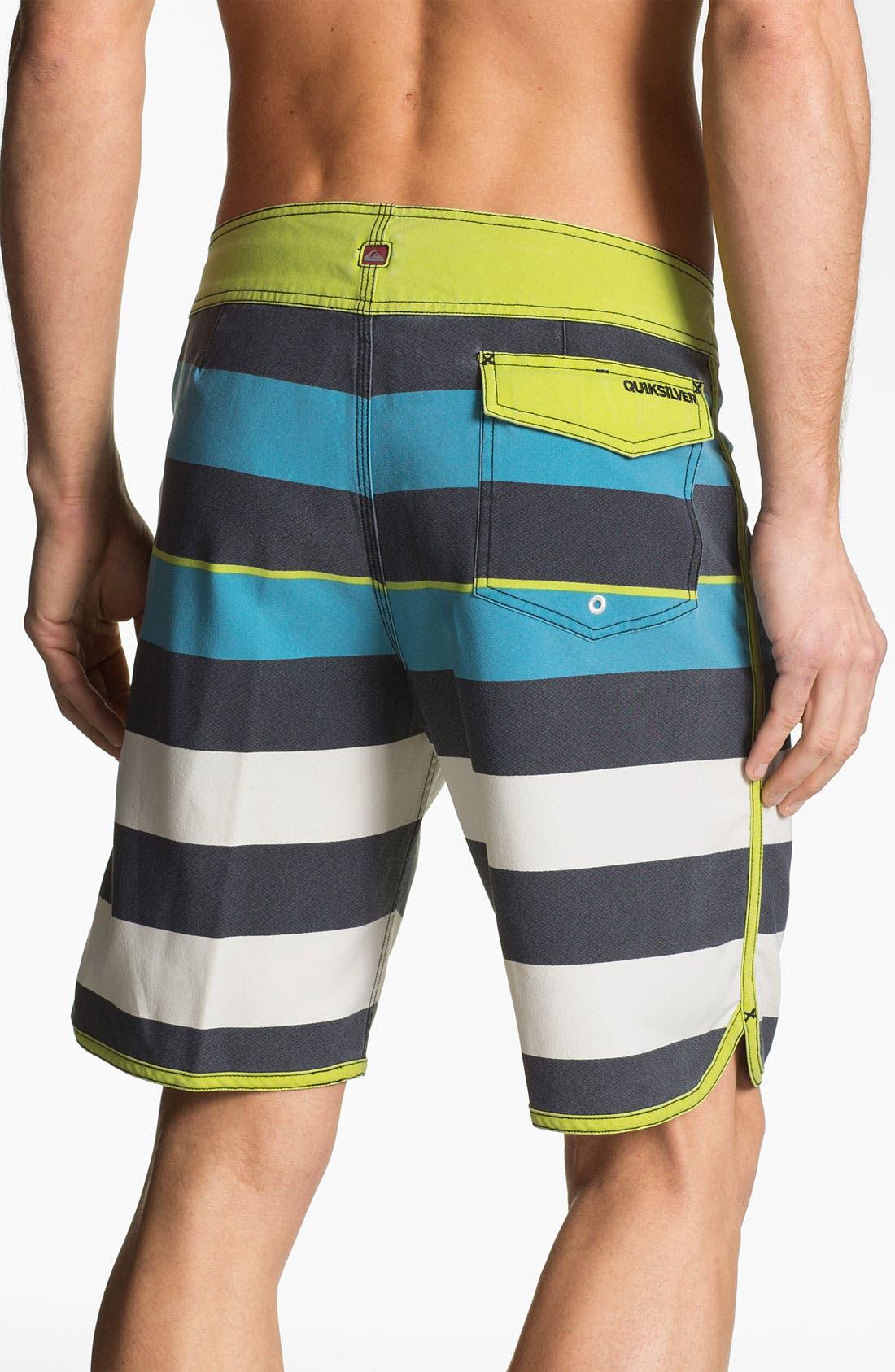 Alternate Image 2  - Quiksilver 'Cypher Brigg Scallop' Board Shorts