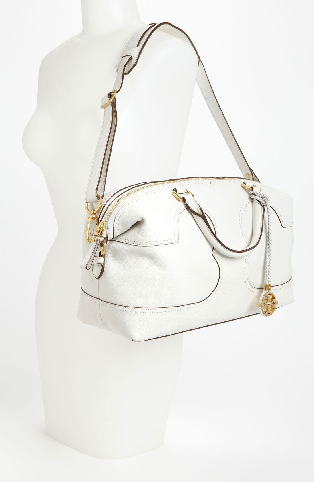 Alternate Image 2  - Tory Burch 'Amalie' Leather Satchel