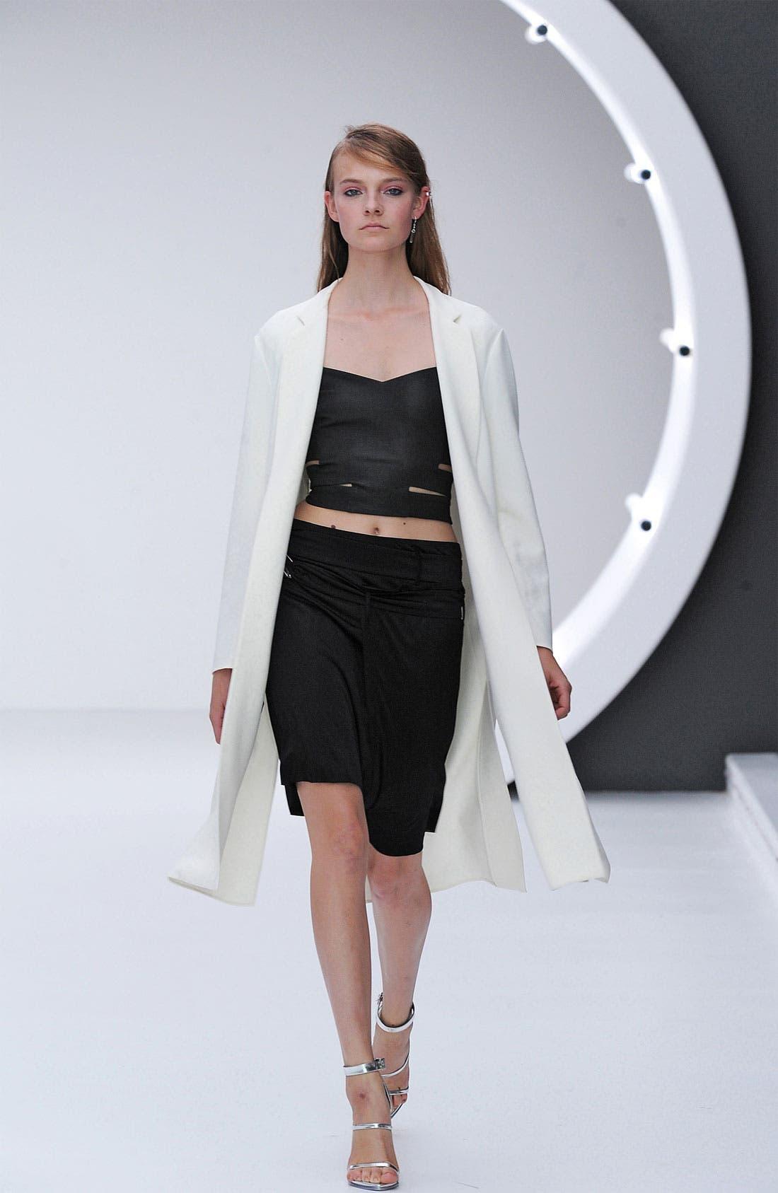Alternate Image 2  - Topshop Unique Long Line Tux Jacket