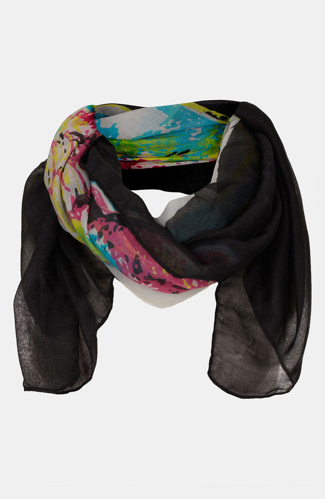 Alternate Image 1 Selected - Topshop Skull Scarf
