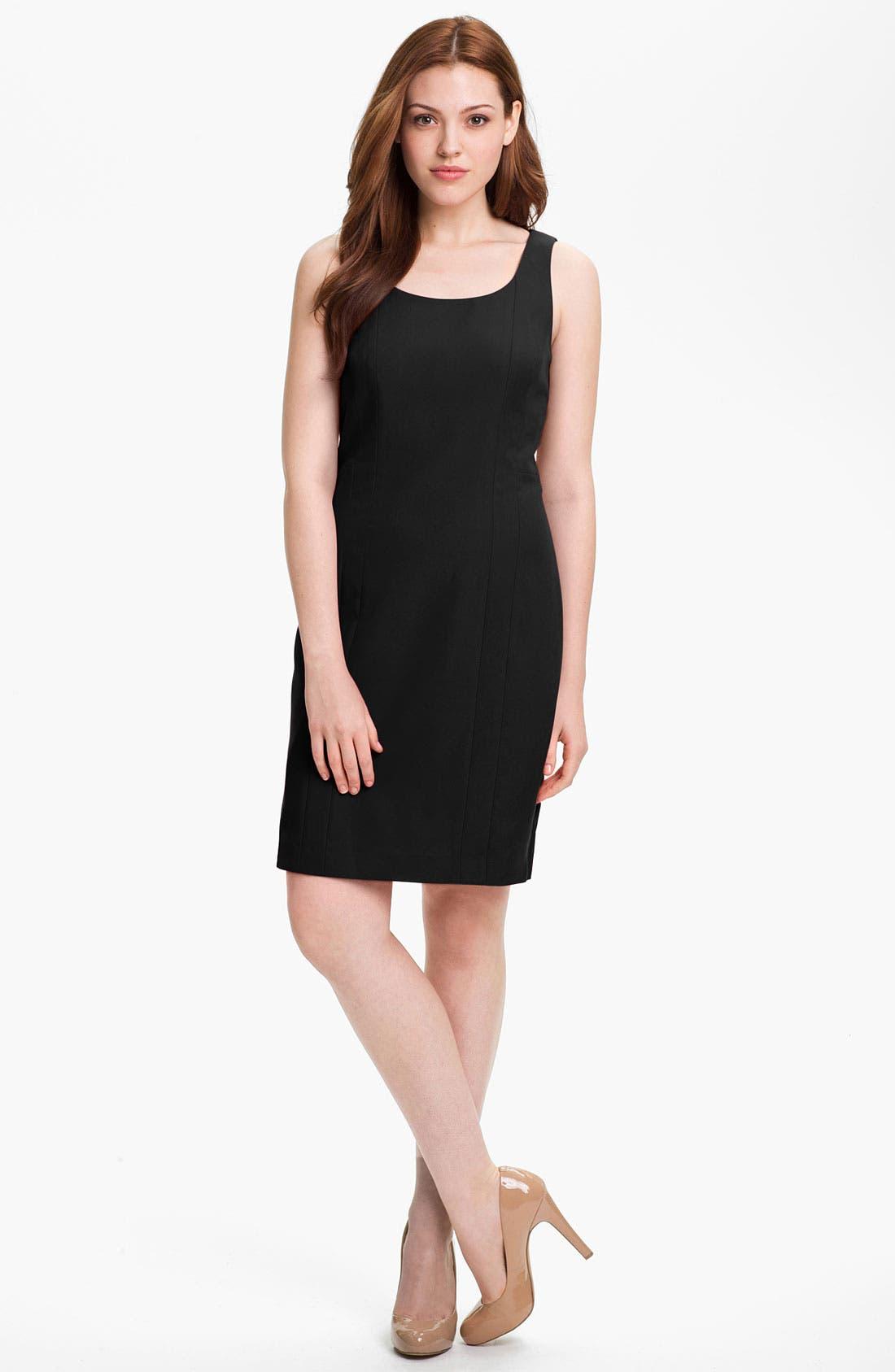 Alternate Image 1 Selected - Halogen Seamed Sheath Dress