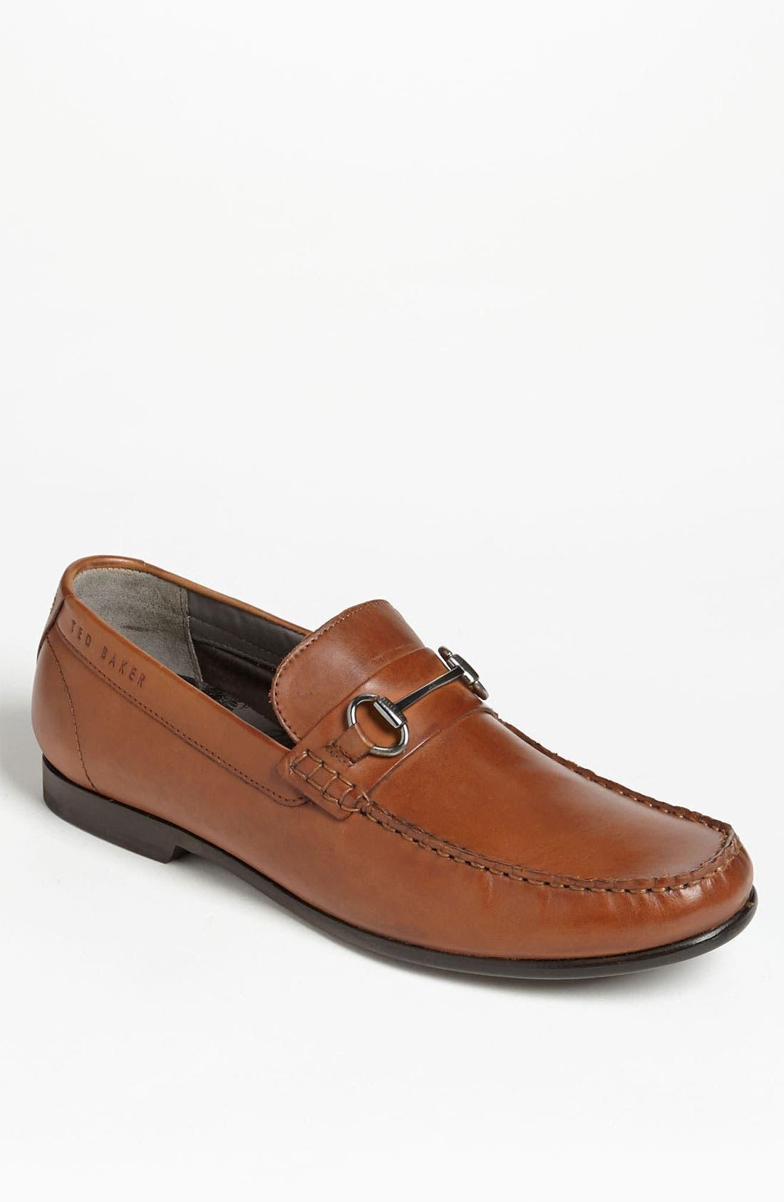 'Braddle 2' Bit Loafer,                         Main,                         color, Tan