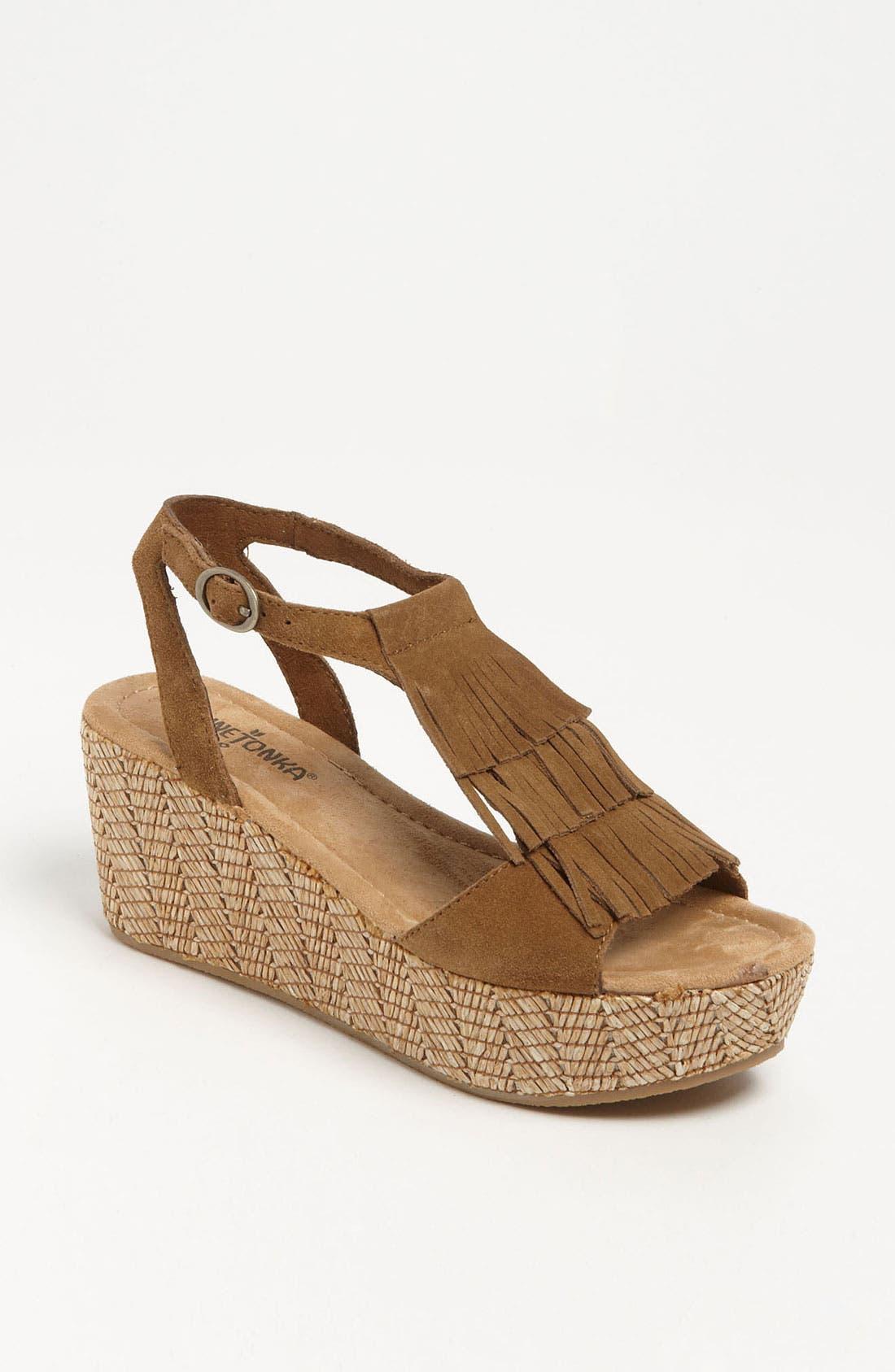 Main Image - Minnetonka 'Central' Sandal