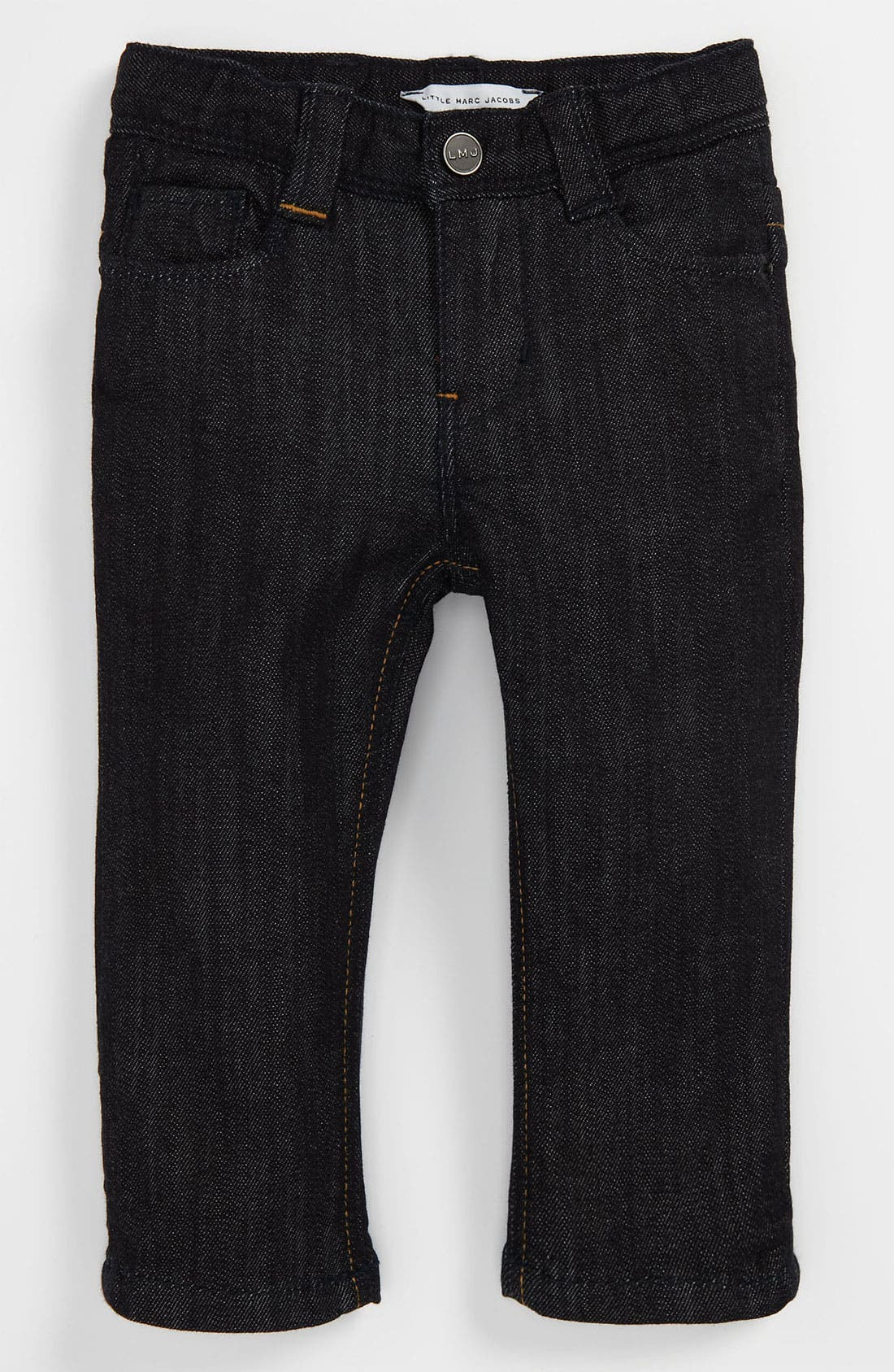 Alternate Image 2  - LITTLE MARC JACOBS Denim Pants (Baby)