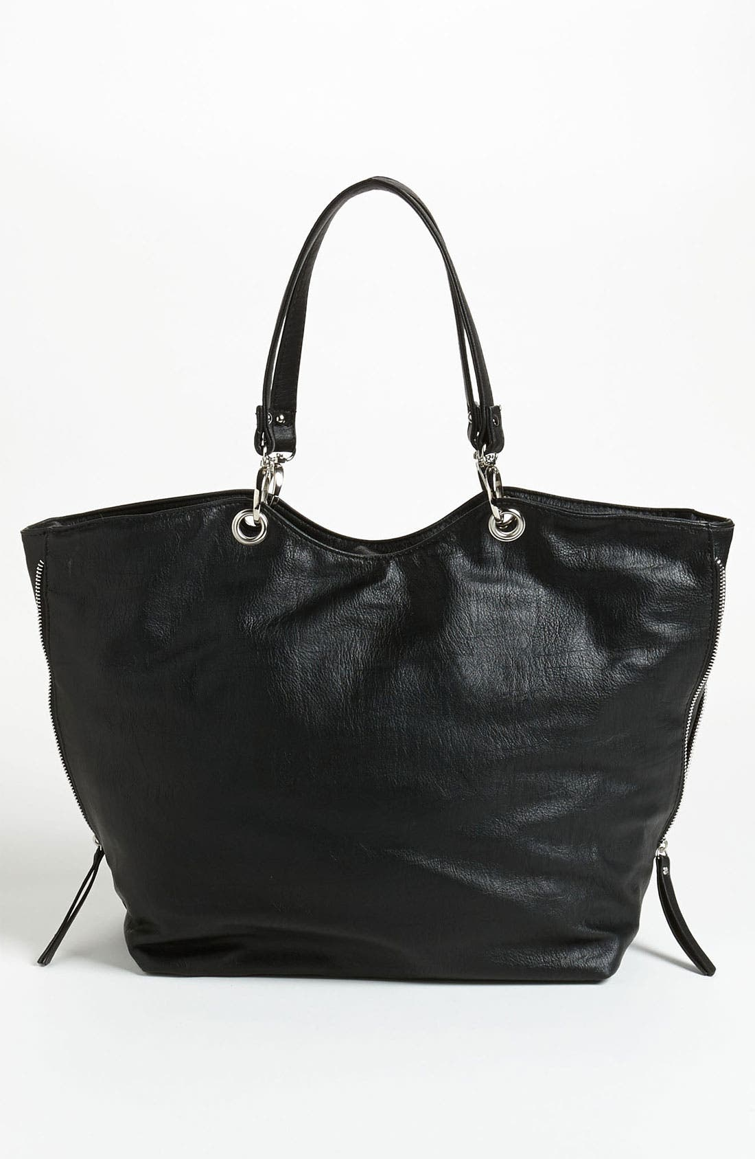 Alternate Image 4  - Cesca Chain Trim Expandable Tote (Online Exclusive)