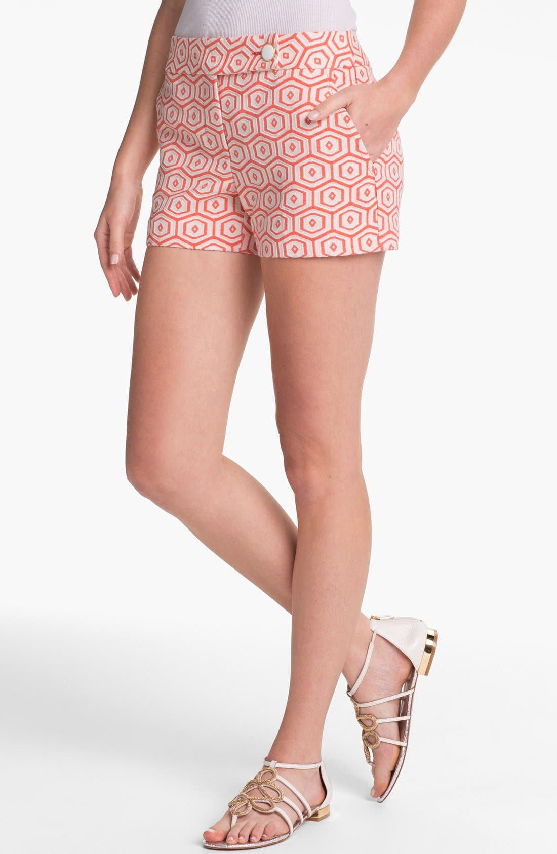 Alternate Image 1 Selected - Trina Turk 'Corbin' Jacquard Shorts