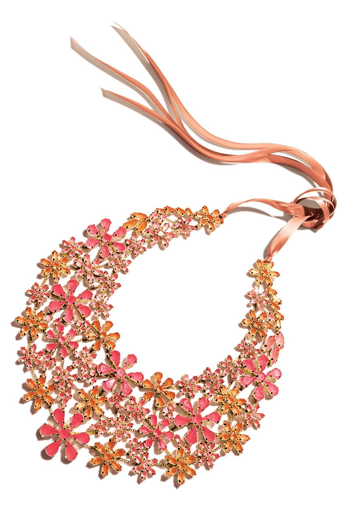 Alternate Image 2  - Tasha 'Field of Flowers' Bib Necklace