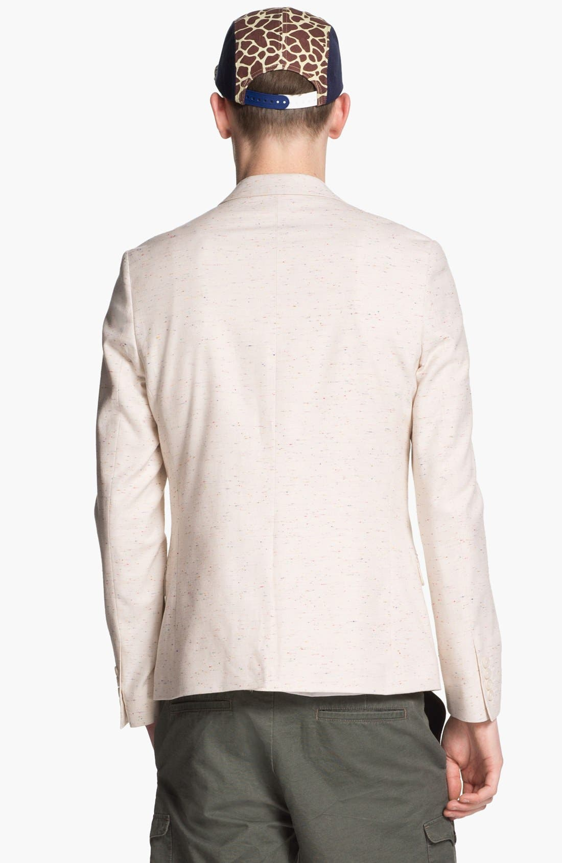 Alternate Image 2  - Topman Skinny Fit Blazer