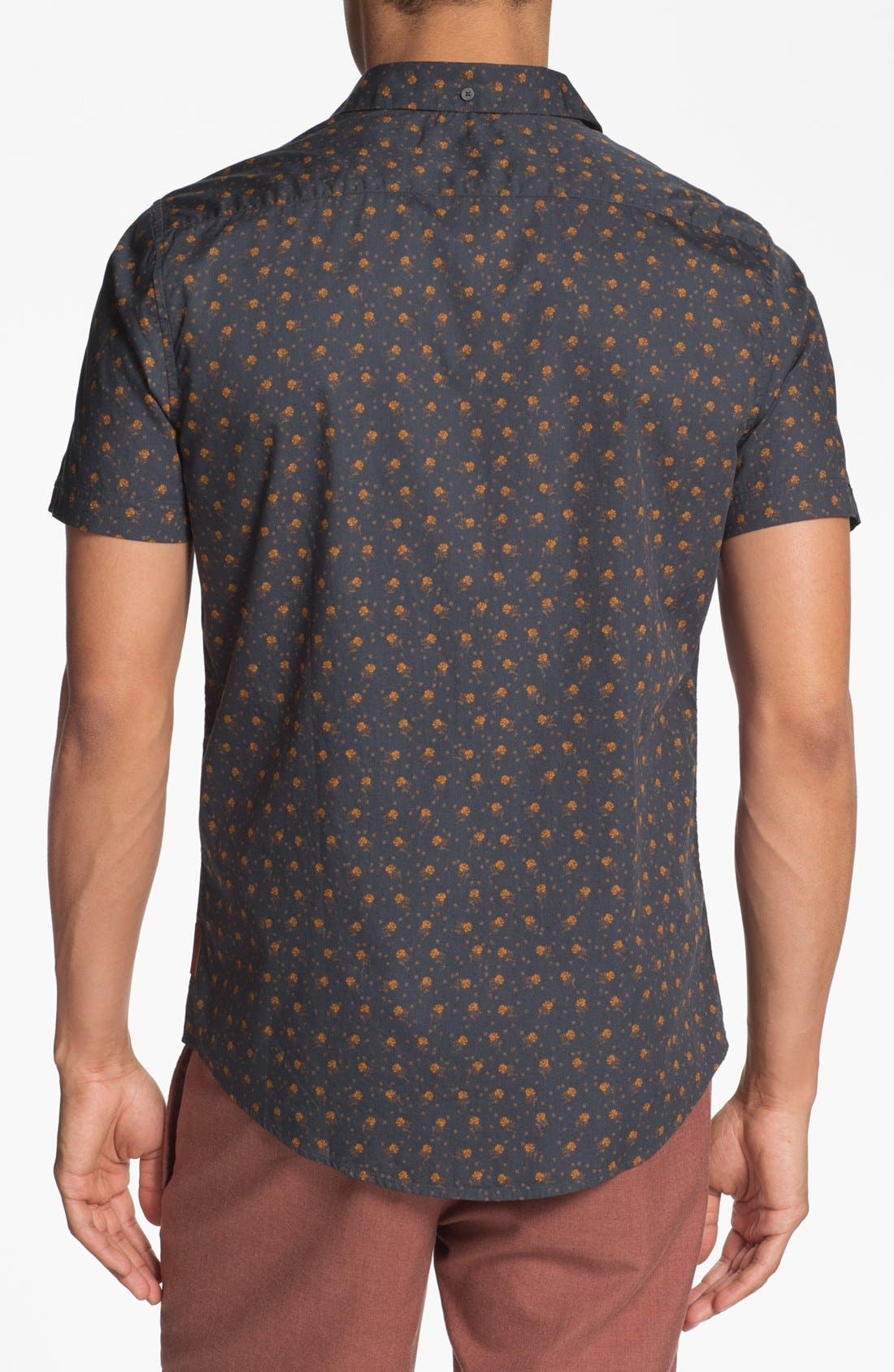 Alternate Image 2  - Ben Sherman Floral Print Woven Shirt