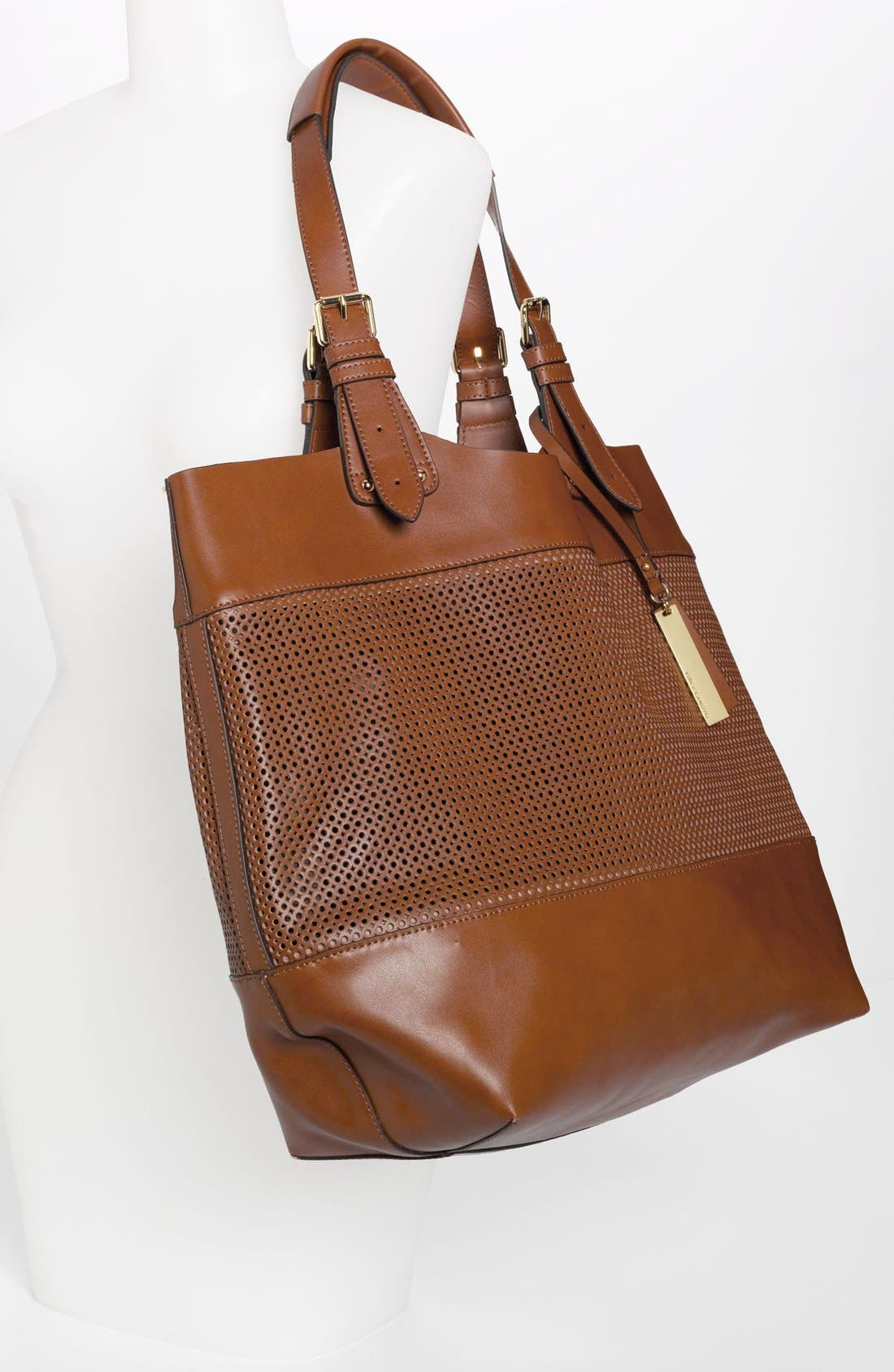 Alternate Image 2  - Vince Camuto Perforated Leather Tote