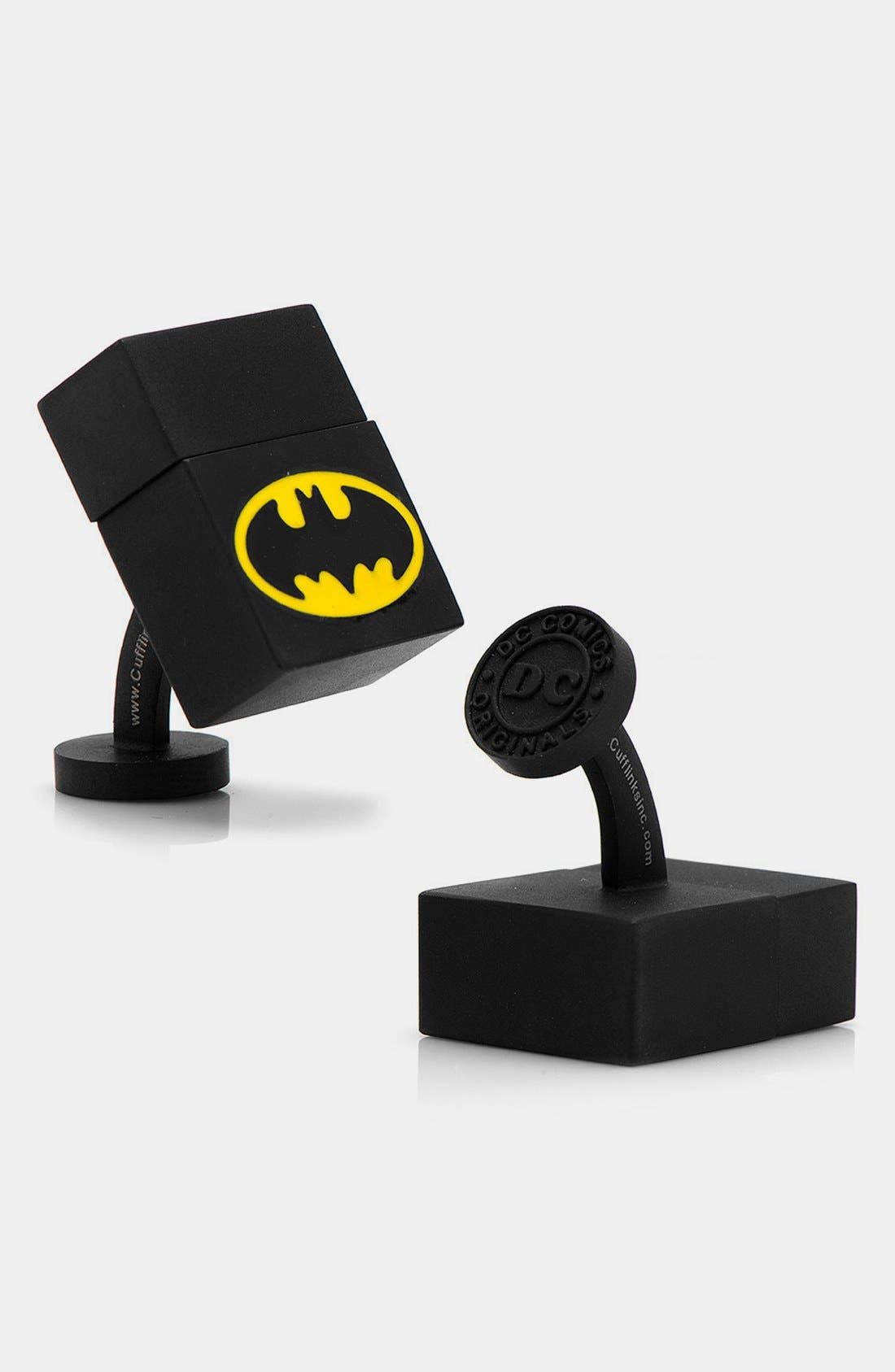 Alternate Image 1 Selected - Cufflinks, Inc. 'Batman' 4GB Flash Drive Cuff Links