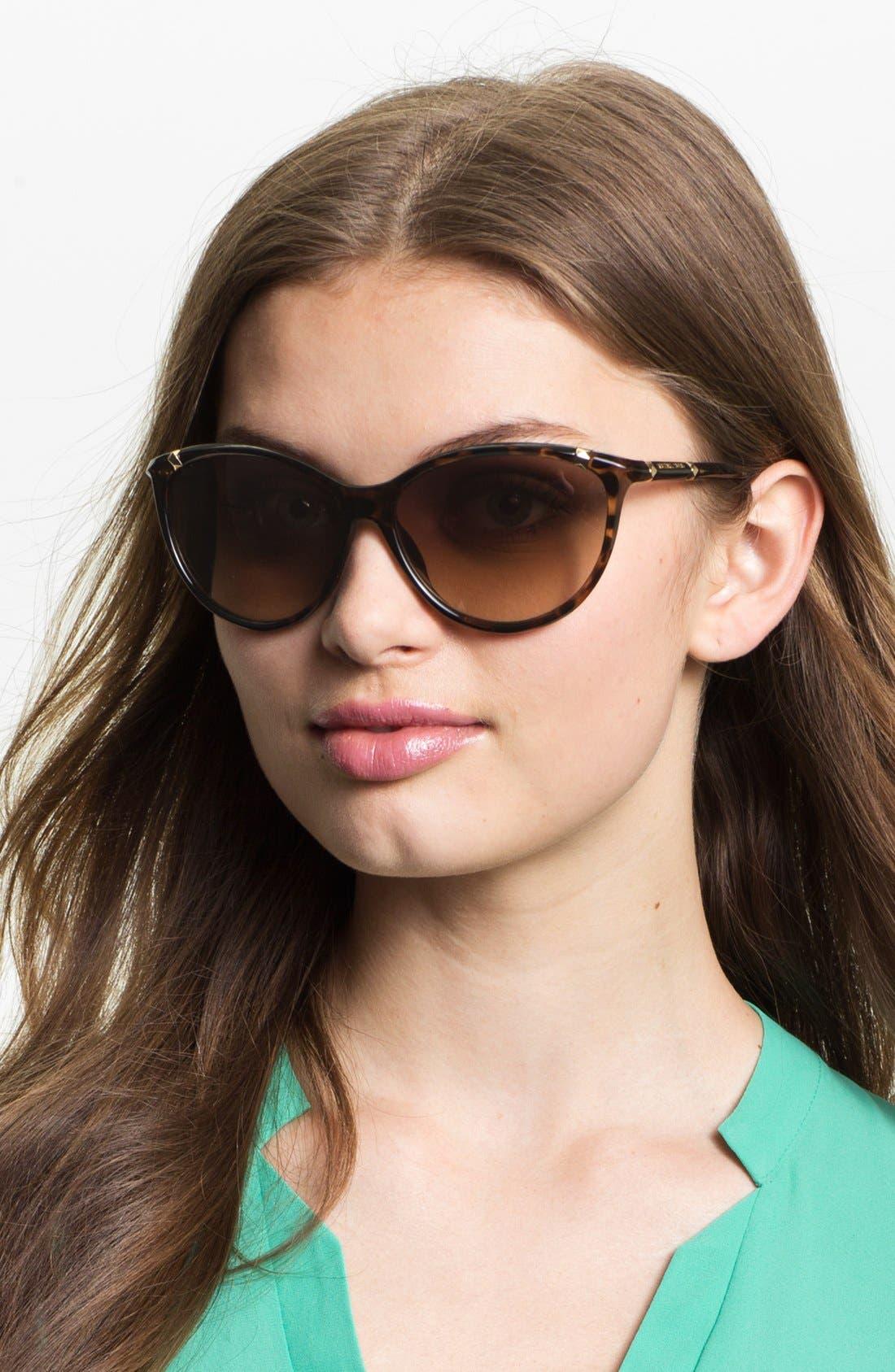 'Camila' 60mm Sunglasses,                         Main,                         color, Tortoise