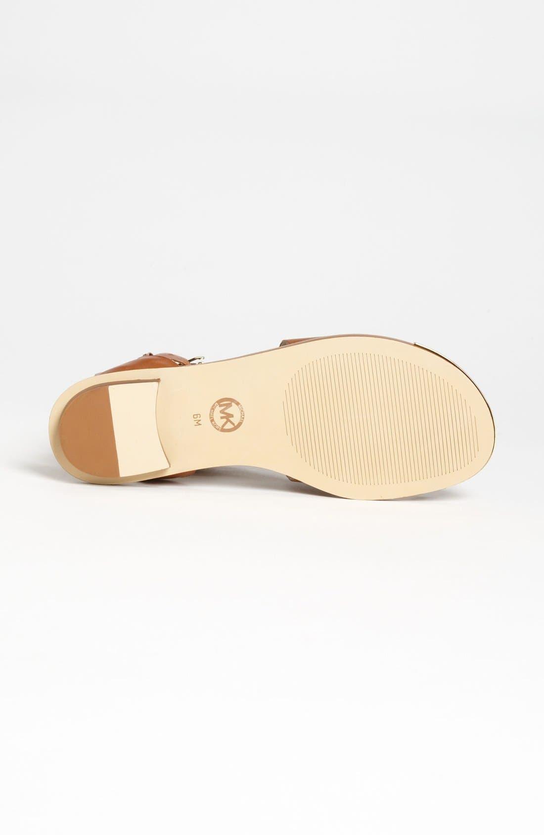 Alternate Image 4  - MICHAEL Michael Kors 'Calder' Toe Loop Sandal