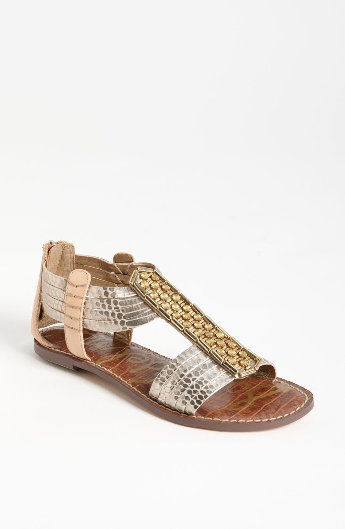Alternate Image 1 Selected - Sam Edelman Embellished Sandal