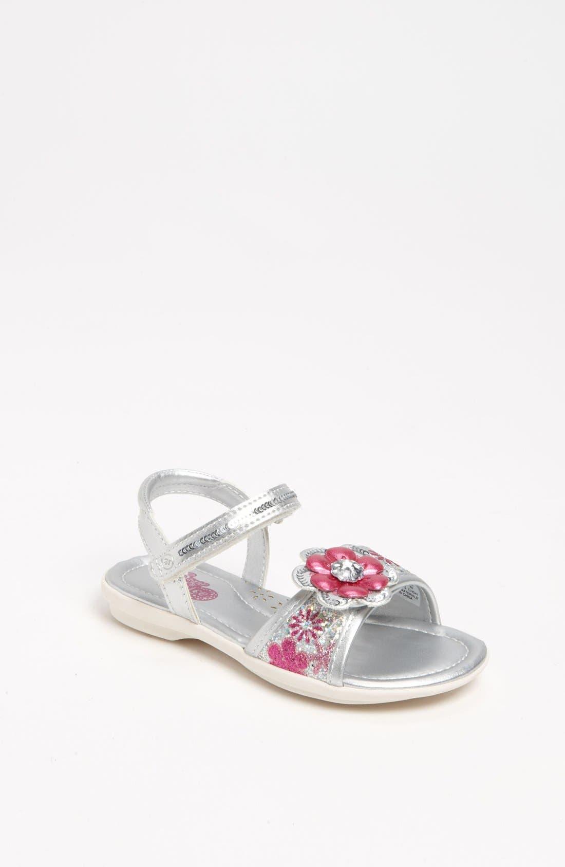 Alternate Image 1 Selected - Stride Rite 'Electra' Sandal (Toddler)