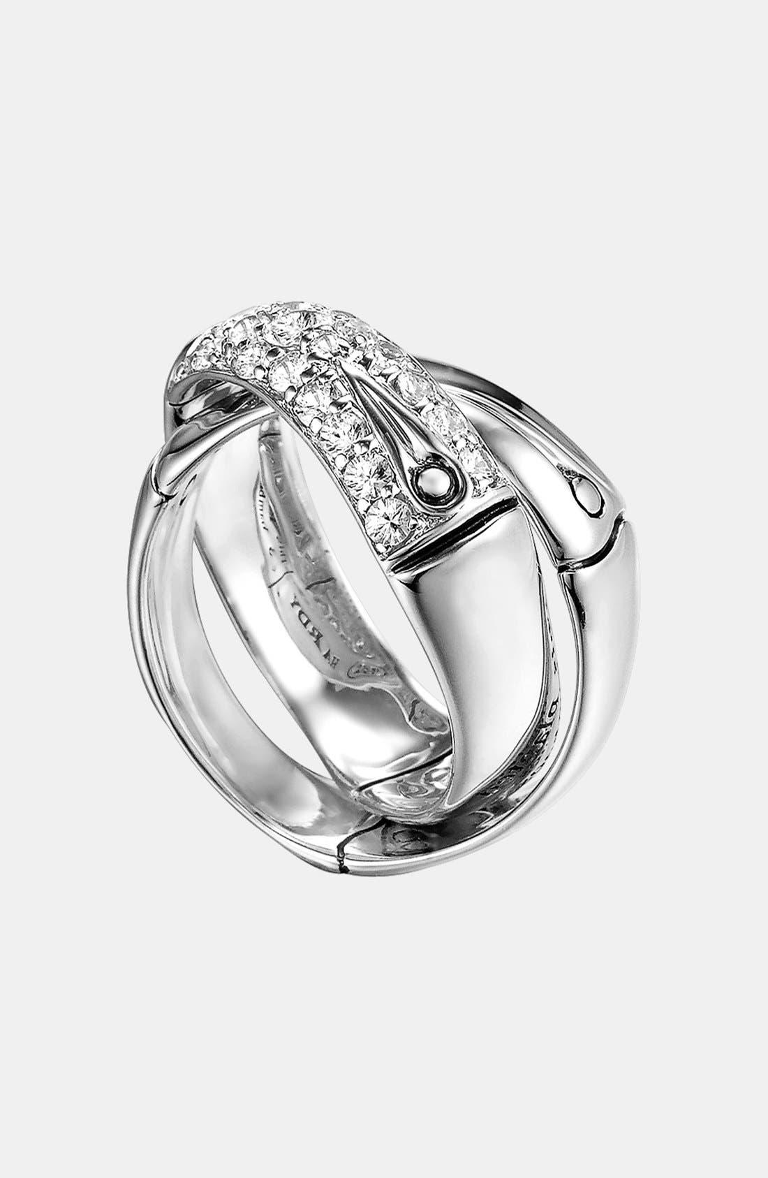 Alternate Image 1 Selected - John Hardy 'Bamboo - Lava' Interlocking Ring