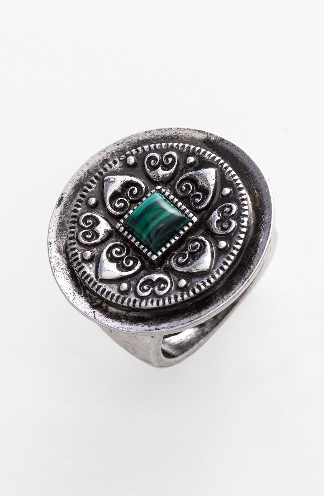 Main Image - Spring Street Square Stone Ring