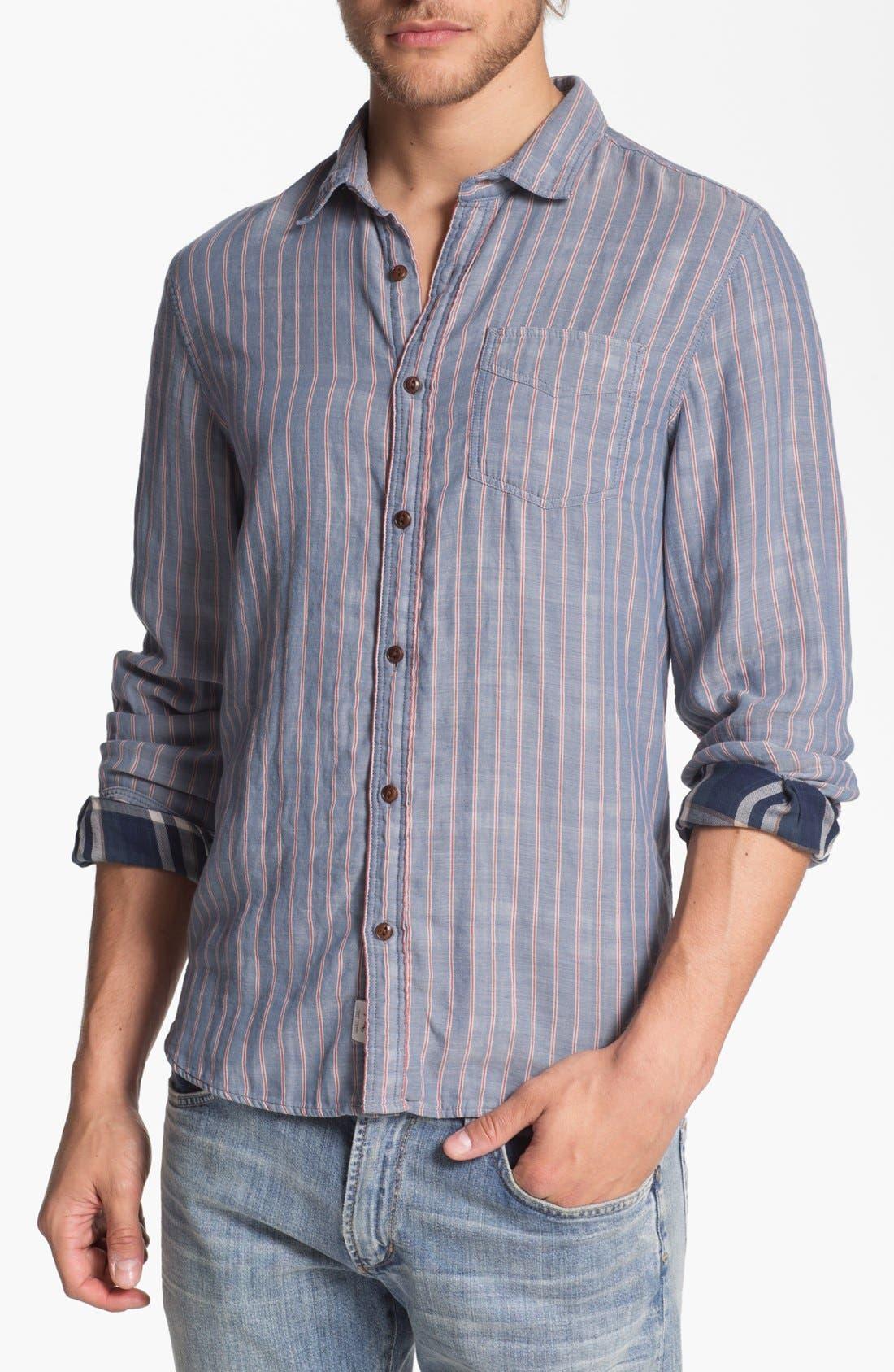Main Image - Woolrich'William' Woven Shirt